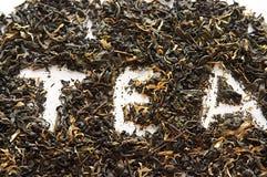 z zieloną herbatę kwiaty Obraz Royalty Free