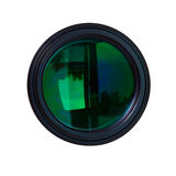 Z zielonymi odbiciami fotografia obiektywy Fotografia Stock