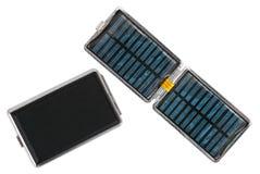 Z zintegrowaną baterią kieszeniowy ogniwo słoneczne Obrazy Royalty Free