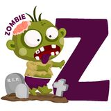 Z For Zombie Stock Image