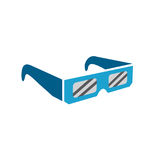 Zaćmień szkła - bezpiecznie przeglądać sumarycznego słonecznego zaćmienie royalty ilustracja