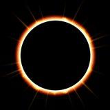 zaćmienie słońca Zdjęcia Royalty Free