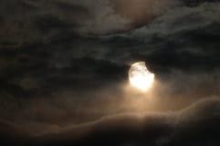 zaćmienie słoneczny Zdjęcia Royalty Free