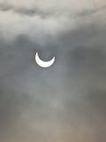zaćmienie słoneczny Zdjęcia Stock