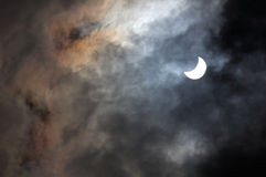 zaćmienie słoneczny Obraz Royalty Free