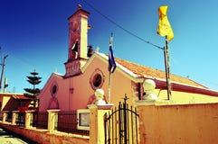 założenia katedralnego kościół kogalym Rosji Siberia ortodoksyjny panieńskie western town Zdjęcie Stock