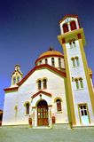 założenia katedralnego kościół kogalym Rosji Siberia ortodoksyjny panieńskie western town Fotografia Royalty Free