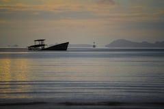 Założyciel na plaży obrazy royalty free