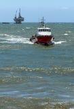 Załoga łódź Fotografia Royalty Free