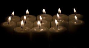 Zaświecać świeczki Fotografia Royalty Free