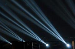 Zaświecać dla koncerta Zdjęcie Stock