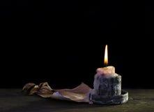 Zaświeca świeczkę Zdjęcia Stock