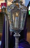 Zaświecający lampion przy wielkanocą Obrazy Royalty Free