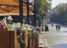 Zaświecający zwyczajny przejście w Odessa Zdjęcie Stock