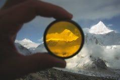 za Everest filtrowy mt Zdjęcia Royalty Free