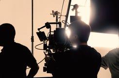 Za kamera wideo ten magnetofonowa online reklama obraz royalty free