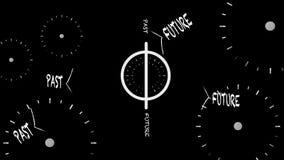 Za, przyszłość, przestrzeń i czas, zdjęcie wideo