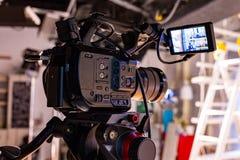 Za scenami wideo produkci lub wideo strzelanina zdjęcie royalty free