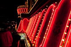 zaświeca neon Obraz Royalty Free