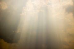 Zaświeca up niebo above Fotografia Royalty Free