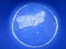 Załzawiona planeta Zdjęcia Stock
