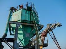 Zaagmolen industriële machine stock afbeeldingen