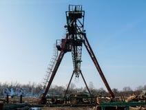 Zaagmolen industriële machine stock foto