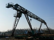 Zaagmolen industriële machine royalty-vrije stock foto's