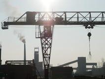 Zaagmolen industriële machine stock afbeelding