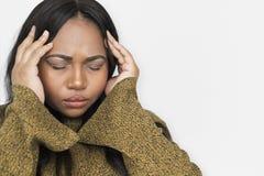 Zaakcentowanego niepowodzenie Problemowego Chorego stresu Nieszczęśliwy pojęcie obraz stock