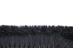 Zaal bezems met varkenshaar stock afbeelding