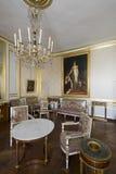 Zaal binnen het Paleis van Fontainebleau, Frankrijk Stock Afbeelding