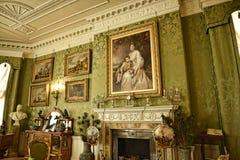 Zaal in een Mooi Buitenhuis dichtbij Leeds West-Yorkshire dat geen Nationaal Vertrouwensbezit is royalty-vrije stock afbeeldingen