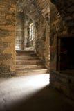 Zaal in een oud huis Stock Afbeeldingen