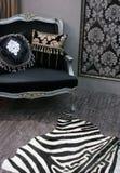 Zaal in een trendy huis Royalty-vrije Stock Foto's