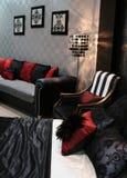 Zaal in een trendy huis Stock Fotografie