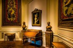 Zaal in het National Gallery van Kunst, Washington, gelijkstroom Royalty-vrije Stock Afbeelding