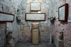 Zaal in kasteel Stock Afbeeldingen