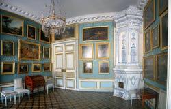 Zaal in Kuskovo Royalty-vrije Stock Afbeeldingen
