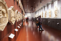 Zaal in Museo-dell Opera del Duomo, Florence stock foto's