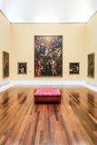 Zaal in Museu DE Belles Arts DE Valencia Royalty-vrije Stock Afbeeldingen