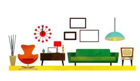 Zaal ontwerp stock illustratie
