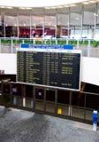 Zaal van aankomst van de luchthaven Stock Foto