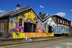 Zaal van bekendheid Tilburg Nederland stock foto