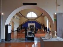 Zaal van de Plastieken van Pompei stock foto's