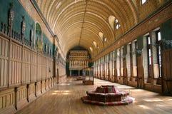 Zaal van de Ridders in Pierrefonds Royalty-vrije Stock Foto's
