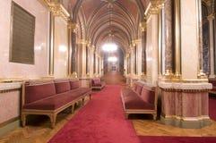Zaal van het parlement of het theater Stock Afbeelding