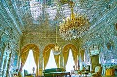 Zaal van Schittering, Golestan, Teheran royalty-vrije stock afbeeldingen