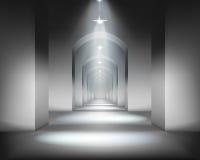 Zaal. Vector illustratie. Stock Foto