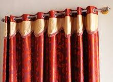 Zaal venstergordijn Royalty-vrije Stock Fotografie